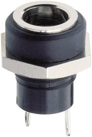 Niedervolt-Steckverbinder Schaltkontakt-Art: Ohne Buchse, Einbau vertikal 5.7 mm 2 mm Lumberg 1614 09 1 St.