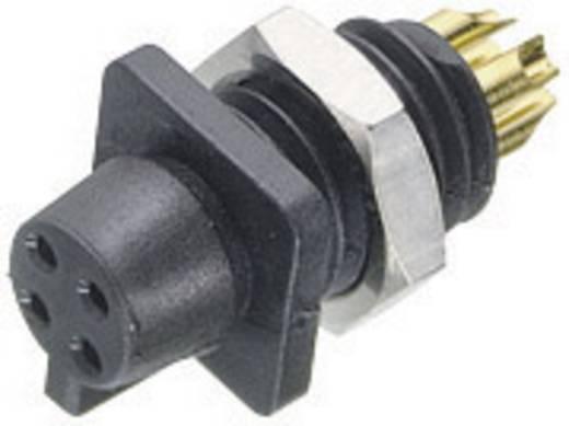 Subminiatur-Rundsteckverbinder Serie 719 Pole: 4 Flanschdose 3 A 09-9766-30-04 Binder 1 St.