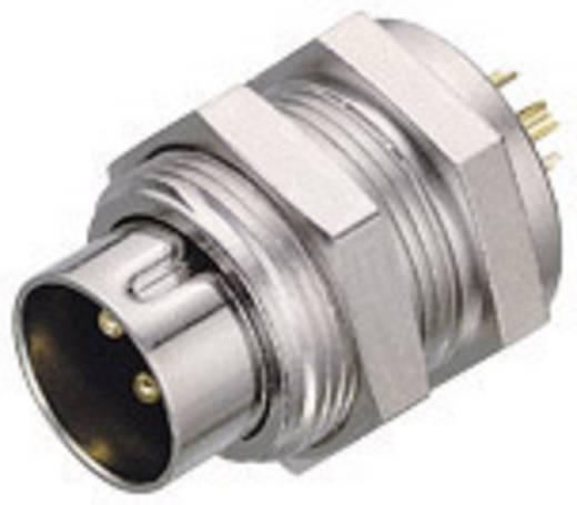 Subminiatur-Rundsteckverbinder Serie 711 Pole: 4 Flanschstecker 3 A 09-0081-00-04 Binder 1 St.