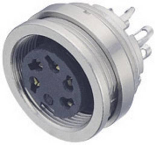 Miniatur-Rundsteckverbinder Serie 723 Pole: 8 DIN Flanschdose 5 A 09-0174-00-08 Binder 1 St.
