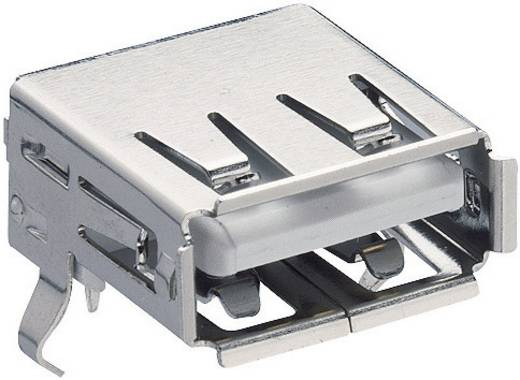USB-Steckverbinder 2.0 Buchse, Einbau horizontal 2410 02 Lumberg Inhalt: 1 St.