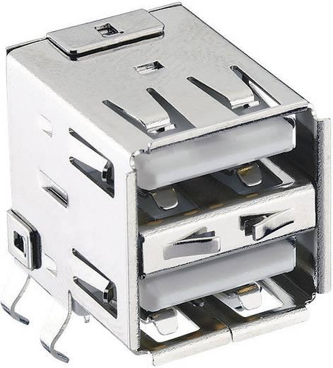 USB-Steckverbinder 2.0 Buchse, Einbau horizontal 2410 03 Lumberg Inhalt: 1 St.