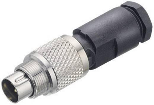 Subminiatur-Rundsteckverbinder Serie 712 Pole: 4 Kabelstecker, gerade 3 A 99-0409-00-04 Binder 1 St.
