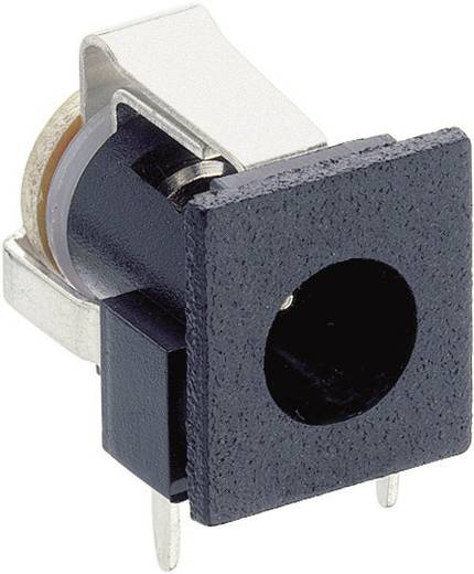 Niedervolt-Steckverbinder Buchse, Einbau horizontal 6.6 mm 1.9 mm Lumberg NEB 1 R 1 St.