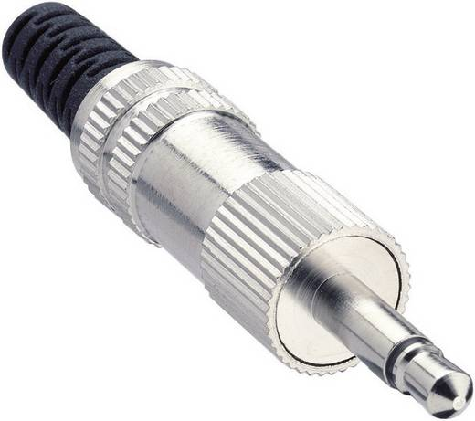 Klinken-Steckverbinder 3.5 mm Stecker, gerade Polzahl: 2 Mono Silber Lumberg KLS 22 1 St.