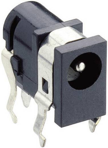 Niedervolt-Steckverbinder Schaltkontakt-Art: Ohne Buchse, Einbau horizontal 4.4 mm 1.65 mm Lumberg 1613 04 1 St.