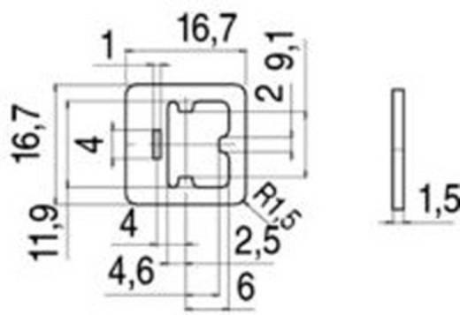 Flachdichtung für Magnetventilsteckverbinder Bauform C Serie 235 Beige 16-8107-000 Binder Inhalt: 1 St.
