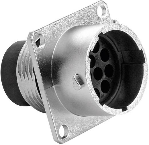 Gerätestecker - Serie RT360™ Vierkantflansch Nennstrom: 13 A Pole: 12 RT0014-12PNH Amphenol