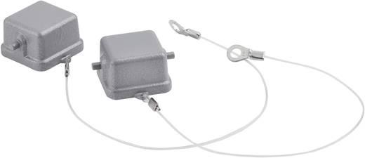 Schutzdeckel mit 2 Bolzen für Anbau-, Sockel-, Kupplungsgehäuse mit Buchseneinsatz, Fangschnur mit Kabelschuh Serie H-A 3 H-A 3 10430100 LappKabel 1 St.