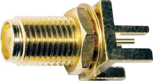 SMA-Steckverbinder Buchse, Einbau vertikal 50 Ω IMS 3499.42.2510.001 1 St.