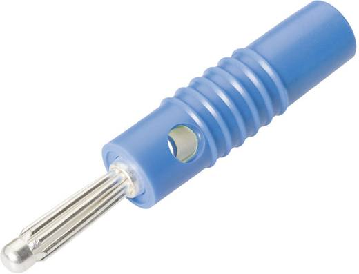 Büschelstecker Stecker, gerade Stift-Ø: 4 mm Blau Schnepp L 4004 S BLAU 1 St.