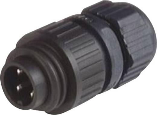 Steckverbinder für Netzspannung CA-Serie Pole: 3 + PE Kabelstecker 16 A/AC/10 A/DC 934 124-100 Hirschmann 1 St.