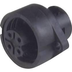 Konektor Hirsch CA 6 GD (932 325-100), zásuvka zabud., 6-pól., max. 2,5 mm², IP67