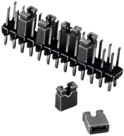 Kurzschlussbrücke Rastermaß: 2.54 mm Polzahl je Reihe:2 W & P Products 165-201-30-00 Inhalt: 1 St.