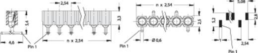 SMD-Buchsenleiste RM 2,54 mm MK 22 SMD/ 20 Fischer Elektronik Inhalt: 1 St.