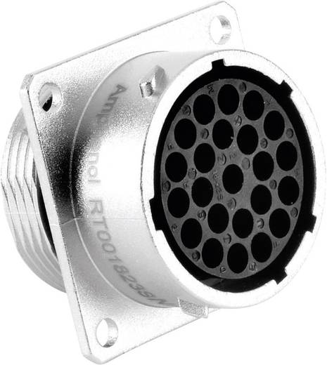 Gerätedose - Serie RT360™ Vierkantflansch Nennstrom: 13 A Pole: 23 RT0018-23SNH Amphenol