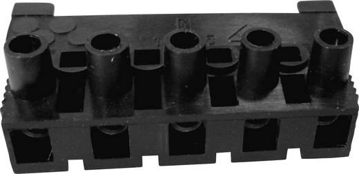 Verbindungsklemme flexibel: -2.5 mm² starr: -2.5 mm² Polzahl: 5 Adels-Contact 163 ST/5 DS 1 St. Schwarz