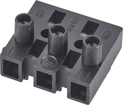 Adels-Contact 151585 V9 1 pz. Morsetto filo flessibile: -2.5 mm² filo rigido: -2.5 mm² Poli: 5 Nero