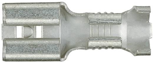 Flachsteckhülse Steckbreite: 6.3 mm Steckdicke: 0.8 mm 180 ° Unisoliert Metall Klauke 1750 1 St.