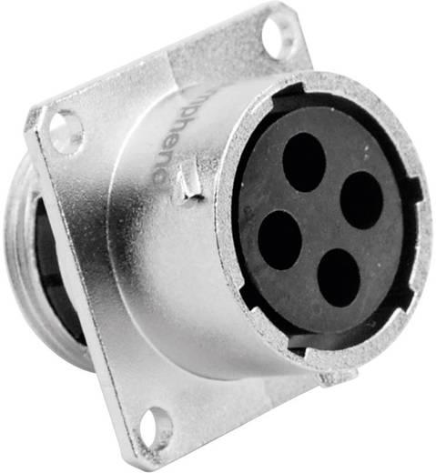Gerätedose - Serie RT360™ Vierkantflansch Nennstrom: 23 A / 13 A Pole: 4 RT0014-4SNH Amphenol