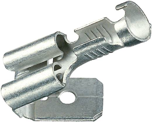 Flachsteckhülse mit Abzweig Steckbreite: 4.8 mm Steckdicke: 0.8 mm 180 ° Unisoliert Metall Klauke 18203AZ 1 St.