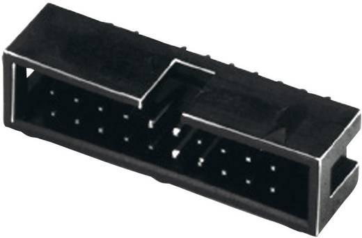 Stiftleiste Rastermaß: 2.54 mm Polzahl Gesamt: 6 W & P Products 1 St.