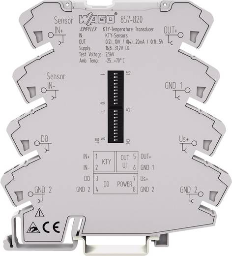 KTY-Messumformer WAGO 857-820 857-820 1 St.