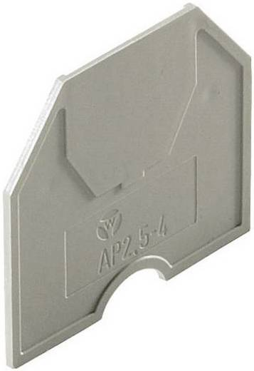 Trennwand fasis TWFN 2,5 E1/2 gris Wieland Grau Inhalt: 1 St.