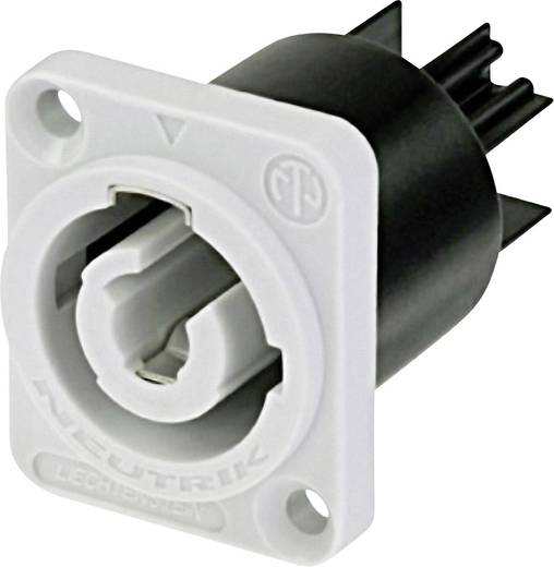 Netz-Steckverbinder Serie (Netzsteckverbinder) powerCON Stecker, Einbau vertikal Gesamtpolzahl: 2 + PE 20 A Grau Neutri