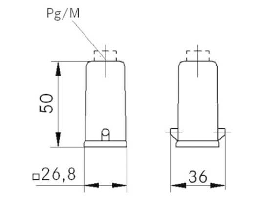 Tüllengehäuse M20 EPIC® H-A 3 LappKabel 19426000 1 St.