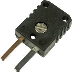 Image of B + B Thermo-Technik 0220 0006 Miniatur-Thermoelementsteckverbinder 0.5 mm² Schwarz Inhalt: 1 St.