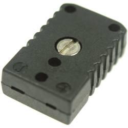 Image of B + B Thermo-Technik 0220 0007 Miniatur-Thermoelementsteckverbinder 0.5 mm² Schwarz Inhalt: 1 St.