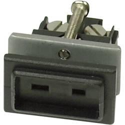 Image of B + B Thermo-Technik 0220 0135-01 Miniatur-Thermoelementsteckverbinder 0.5 mm² Schwarz Inhalt: 1 St.