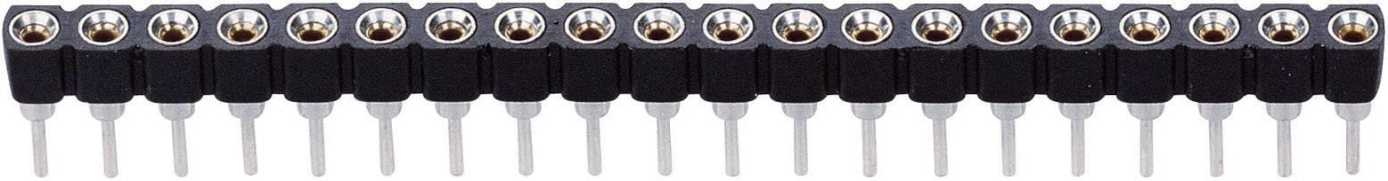 1 Polzahl je Reihe Präzision Anzahl Reihen 32 BKL Electronic Buchsenleiste