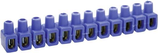 Dosenklemme flexibel: 4-10 mm² starr: 4-10 mm² Polzahl: 12 Kaiser 610/bl 1 St. Blau