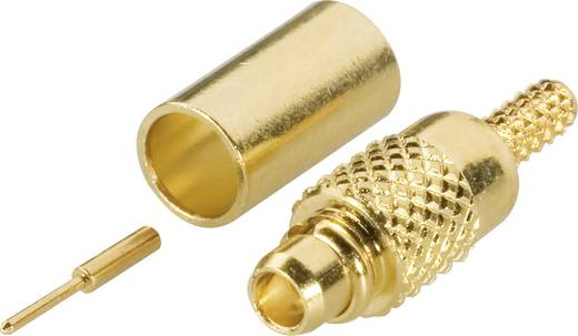 MMCX-Steckverbinder Stecker, gerade 50 Ω Amphenol MMCX1121A1-3GT30G-5-50 1 St.
