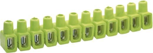 Dosenklemme flexibel: 4-10 mm² starr: 4-10 mm² Polzahl: 12 Kaiser 610/gegr 1 St. Grün-Gelb