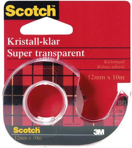 Klebeband Scotch® Crystal Clear 600 Transparent (L x B) 10 m x 12 mm 3M 7000103388 1 Rolle(n)