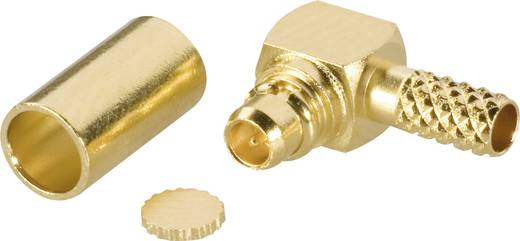 MMCX-Steckverbinder Stecker, gewinkelt 50 Ω Amphenol MMCX1112A1-3GT30G-14-50 1 St.