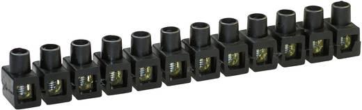 Dosenklemme flexibel: 2.5-6 mm² starr: 2.5-6 mm² Polzahl: 12 Kaiser 663/sw 1 St. Schwarz
