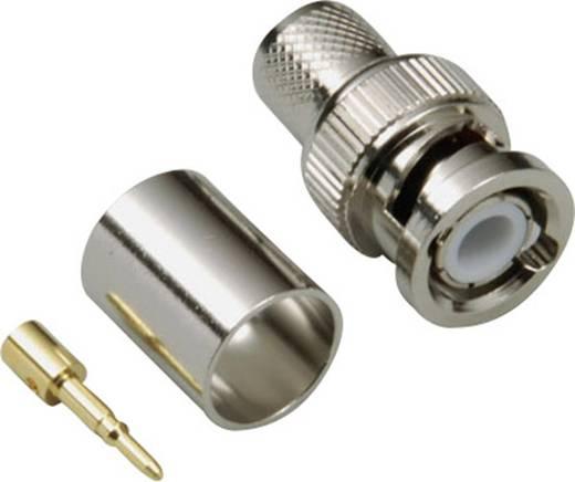 BNC-Steckverbinder Stecker, gerade 50 Ω BKL Electronic 0401270 1 St.