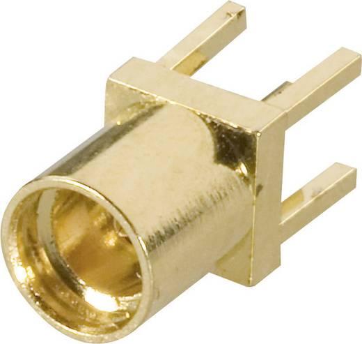 MMCX-Steckverbinder Buchse, Einbau vertikal 50 Ω Amphenol MMCX6251N1-3GT30G-50 1 St.