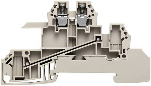 Verteiler-Reihenklemmen WDL 2.5 S für die 10 x 3 mm Sammelschiene WDL 2.5/S/N/L 1030800000 Grau, Blau, Grün-Gelb Weidmüller 1 St.