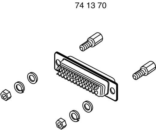 Halterungsbolzen BKL Electronic 10120256 Silber 8 Teile