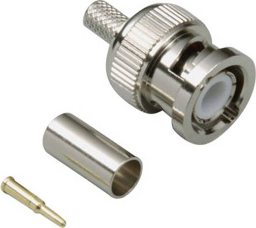 BNC-Steckverbinder Stecker, gerade 50 Ω BKL Electronic 0401274 1 St.