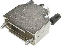 Capot SUB-D 25 pôles ASSMANN WSW AMET-25 RS métal 180 ° argent 1 pc(s)