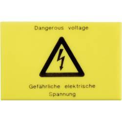 Varovný štítek Phoenix Contact WS-G5/3, žlutá