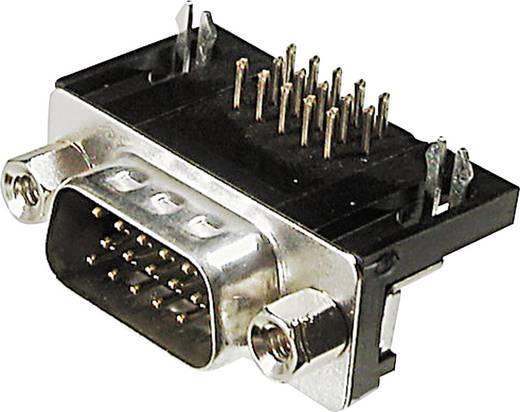 D-SUB Stiftleiste 90 ° Polzahl: 44 Löten ASSMANN WSW A-HDS 44 A-KG/T 1 St.