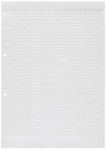 Beschriftungsbogen ESO 5 DIN A4 WEISS BOG. 1607710000 Weiß Weidmüller 1 St.