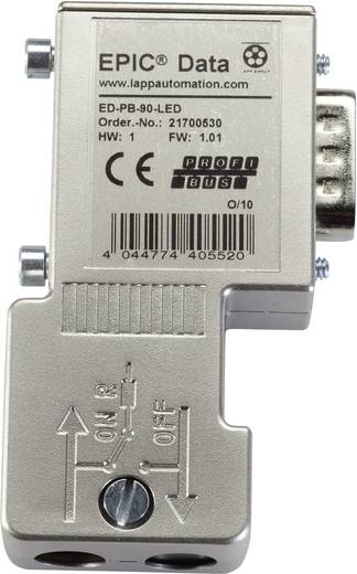 EPIC® Data PROFIBUS Steckverbinder mit Schraubanschluss Pole: 9 EPIC® ED-PB-90-LED-S LappKabel Inhalt: 1 St.